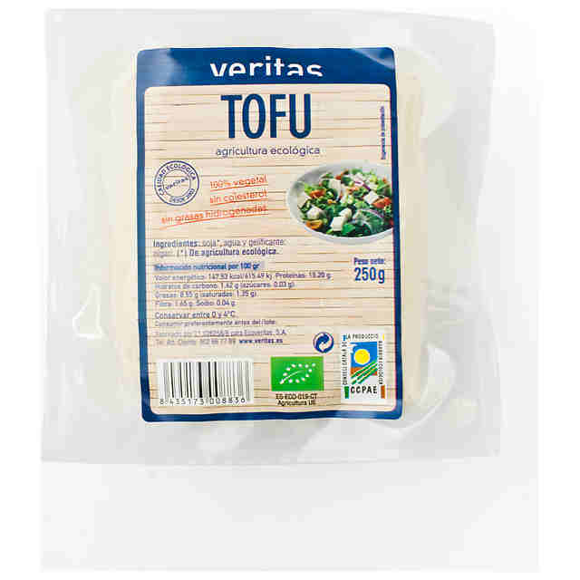 Tofu Natural Eco Veritas 250 gr