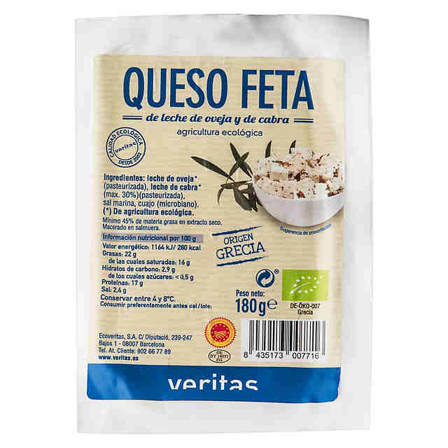 Queso Feta Eco Veritas 180 gr