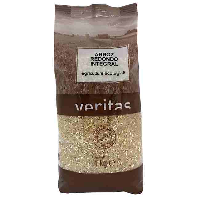 Arroz Redondo Integral Eco Veritas 1Kg