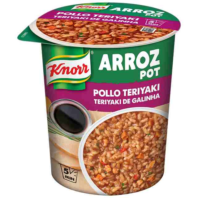 Arroz Pot de Pollo Teriyaki Knorr