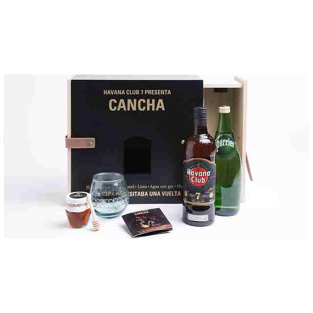 Ron Havana Club 7 70cl + Kit Cancha