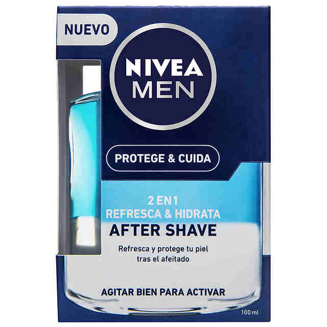 Loción After Shave Nivea Men 2 en 1 100ml