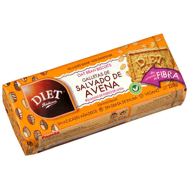 Galletas de Salvado de Avena DIET Rádisson 220g