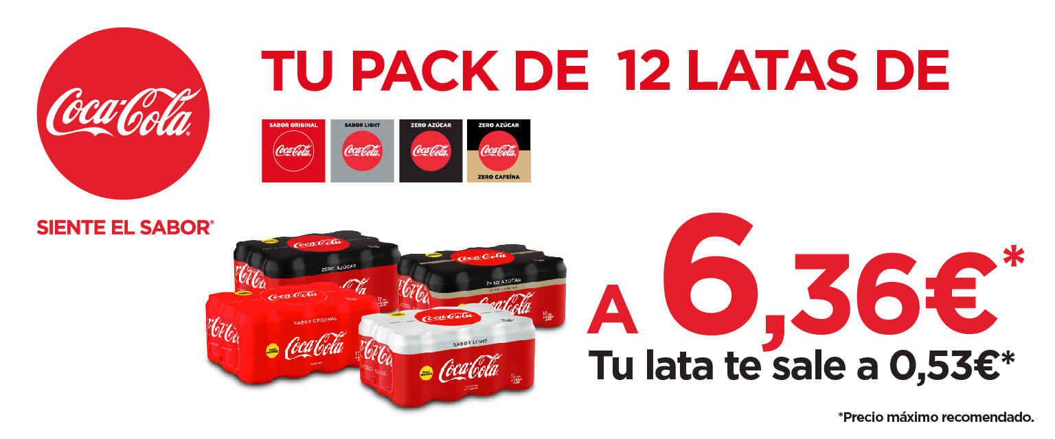 Banner Pack Coca Cola