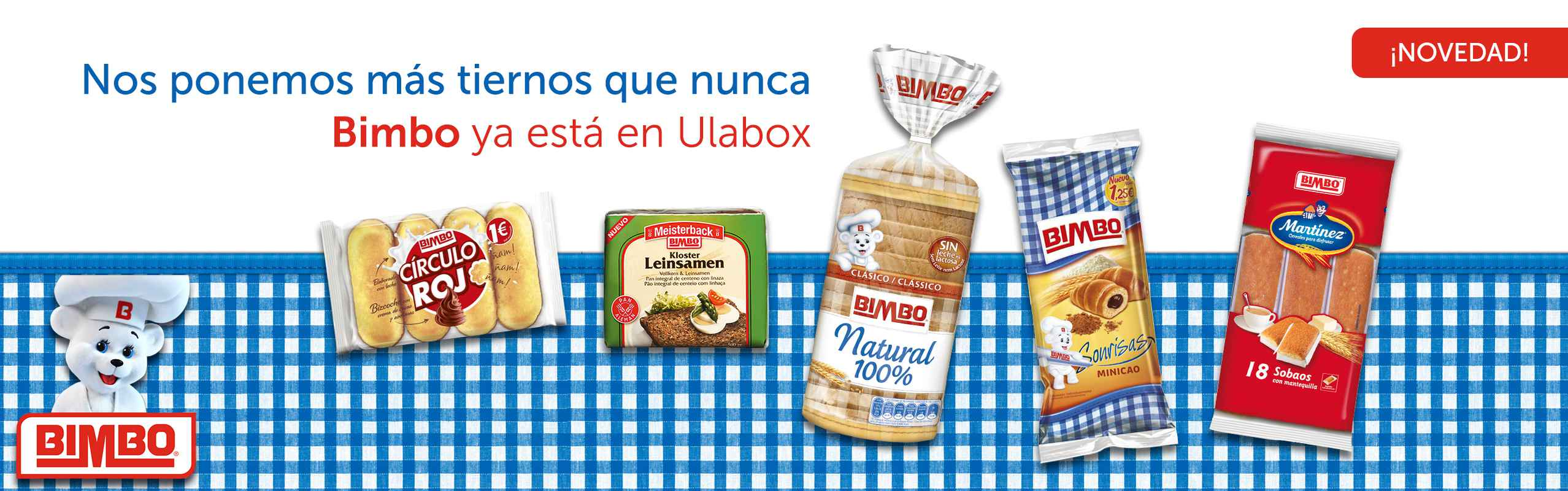 ¡Bimbo en Ulabox!