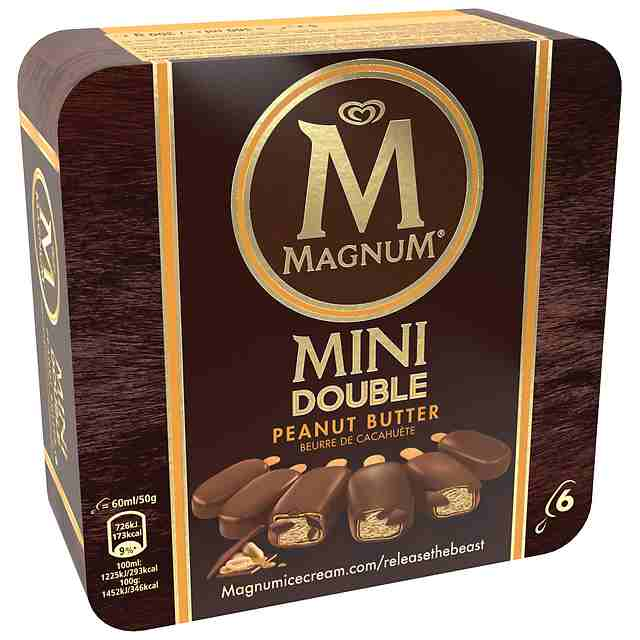 Magnum Mini Doble Manteca de Cacahuete