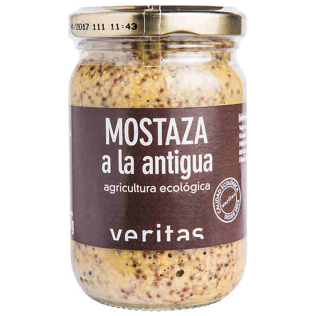 Mostaza Antigua Eco Veritas 200g