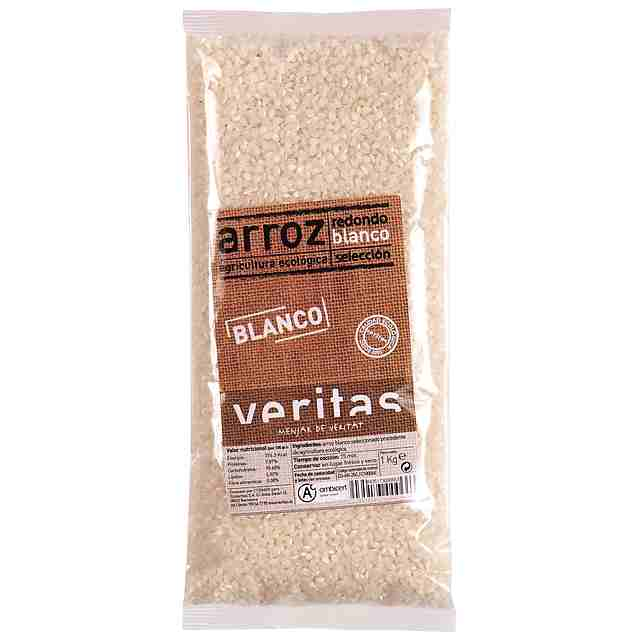 Arroz Blanco Redondo Eco Veritas 1Kg