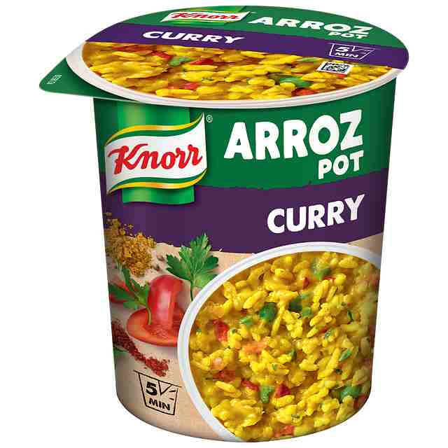 Pot Arroz al Curry Knorr