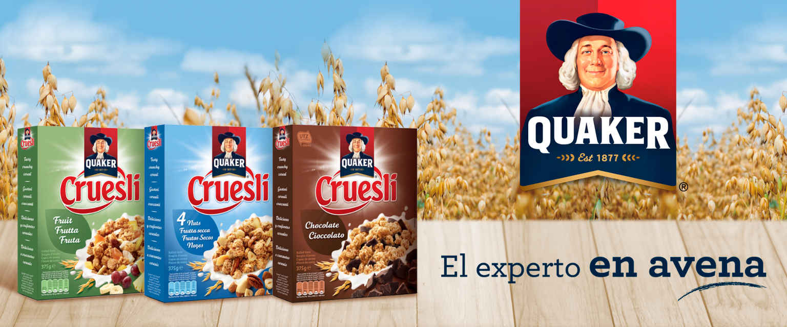 Quaker en Ulabox